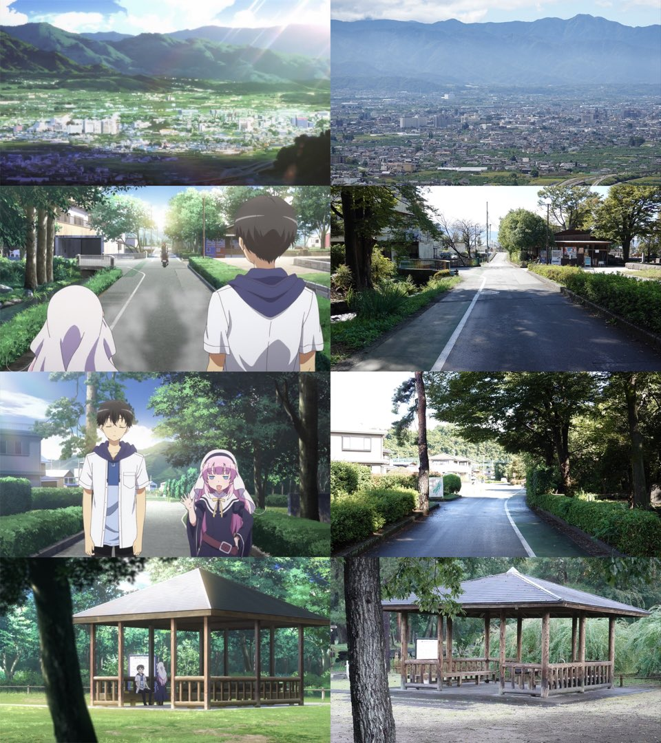 Real-world/anime locations 2