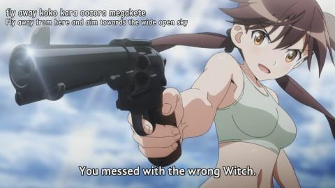 We're still not sure where she was hiding that gun.
