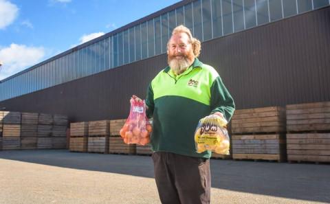 You'll never see a happier Tasmanian.