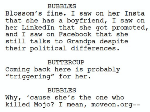 Script leak one.