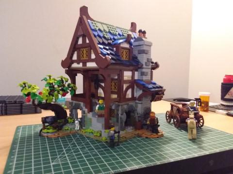 Medieval Blacksmith LEGO set