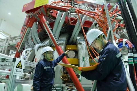 China's Tokamak reactor.
