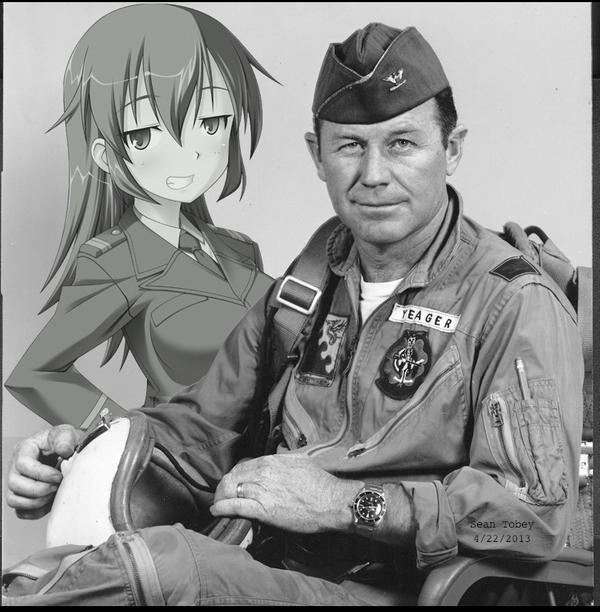 Shirley and Chuck Yeager